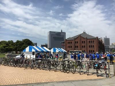 横浜開港祭サイクルピクニックへ行ってきました