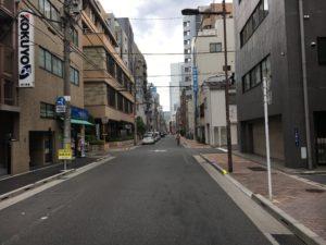 オフィス前道路